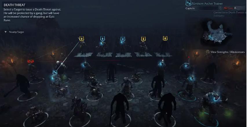 Shadow of Mordor Review Nemesis system