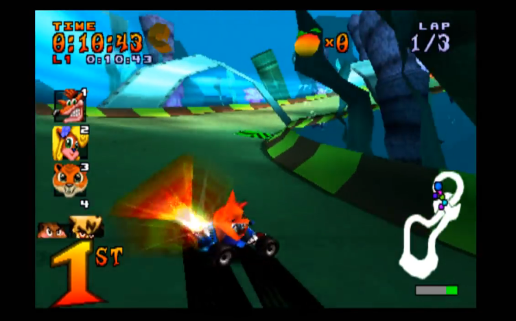 Roo's Tubes Track - Crash Team Racing Review