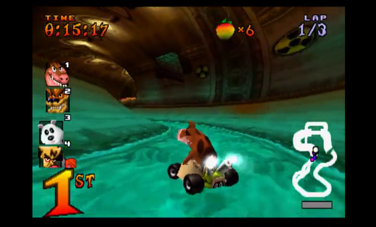 Sewer Speedway Track - Crash Team Racing Review