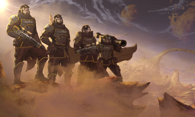 The Helldivers