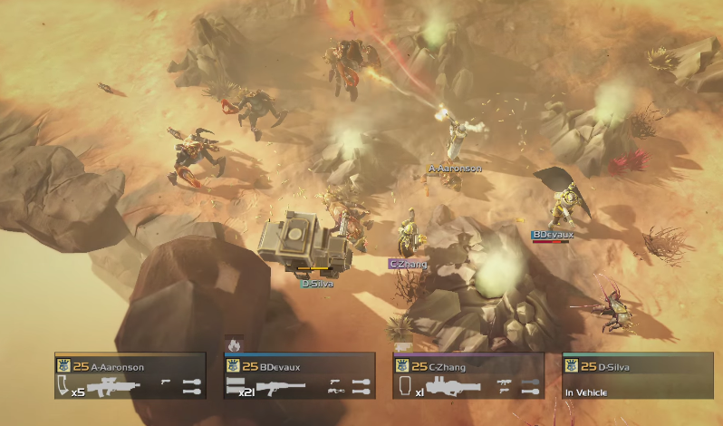 Chaotic Battle - Helldivers Review