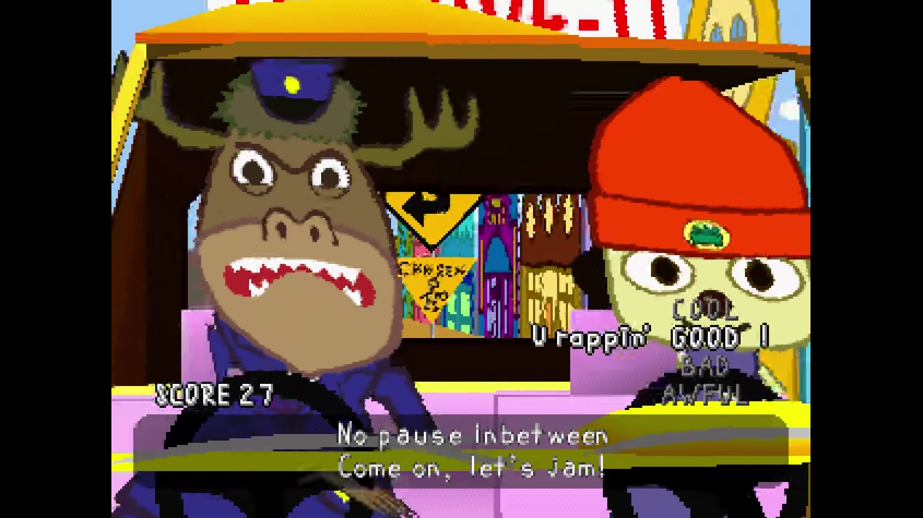 PaRappa the Rapper - The Best Rap Video Game