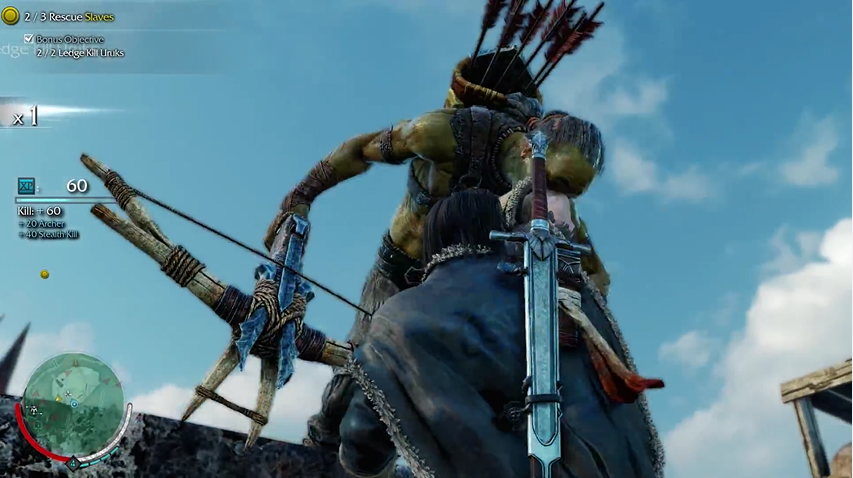 Archer Take Down - Middle-Earth: Shadow of Mordor Review