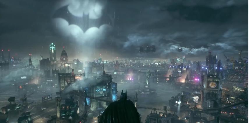 The Bat Signal Over Gotham - Batman: Arkham Knight Review