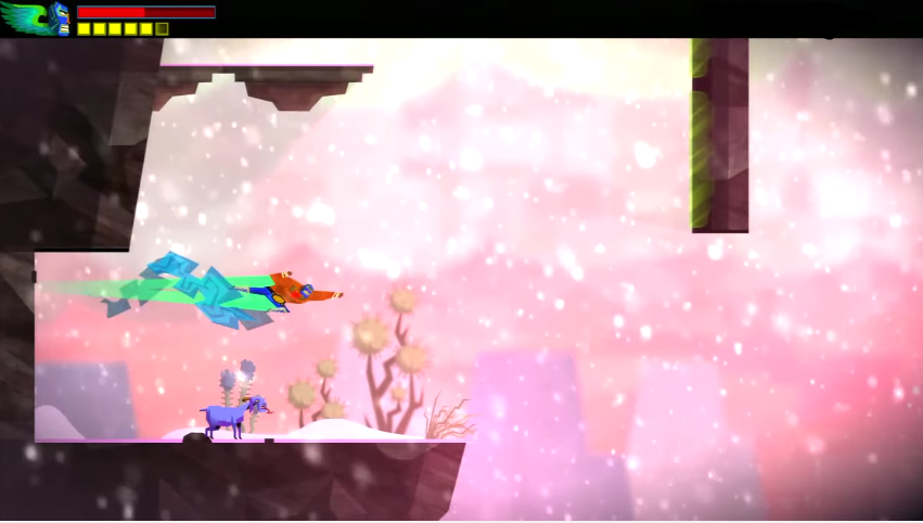 An Attack Used as a Platforming Action