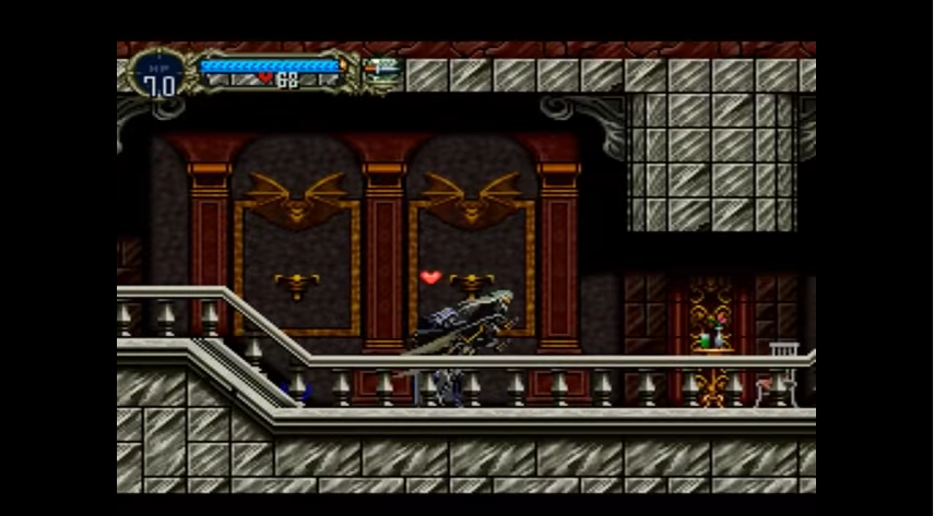 Castlevania: Symphony of the Night - Typical SotN Gameplay