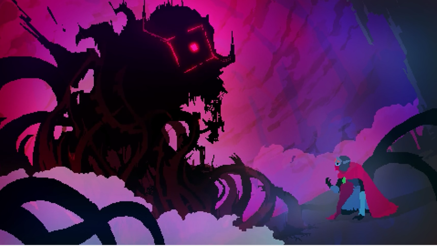 Never Quite Sure What's Going On in Hyper Light Drifter
