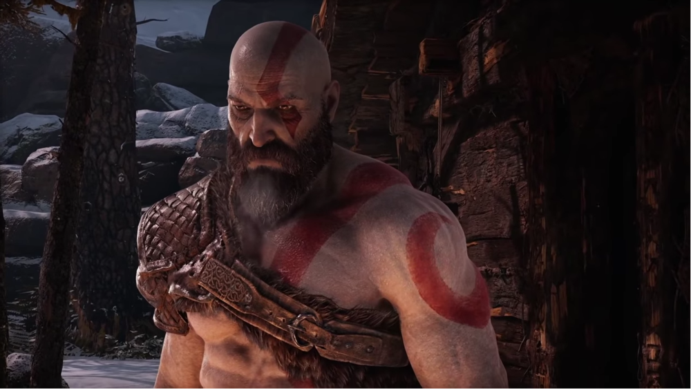 Kratos is Angry