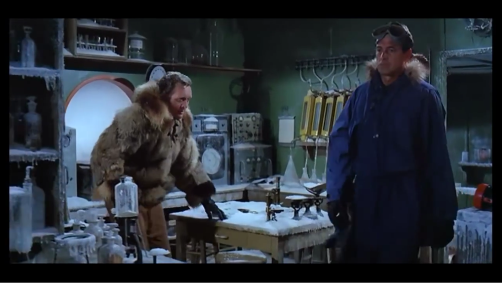 Ice Station Zebra had superb production at the time