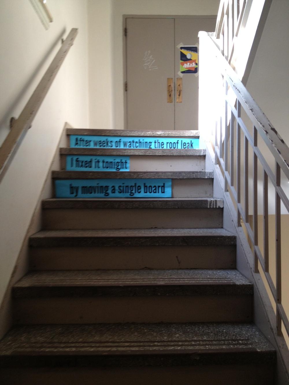 Stair Poems