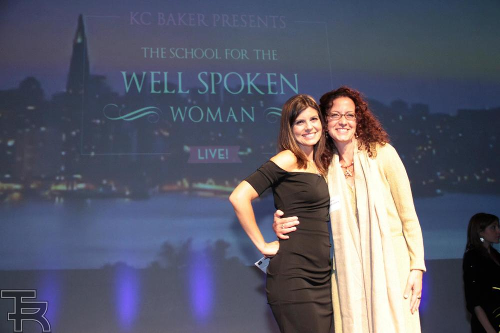 One of the most inspirational events I have attended-July 2012 with KC Baker- celebrating the power of women's voices when they speak from their heart!
