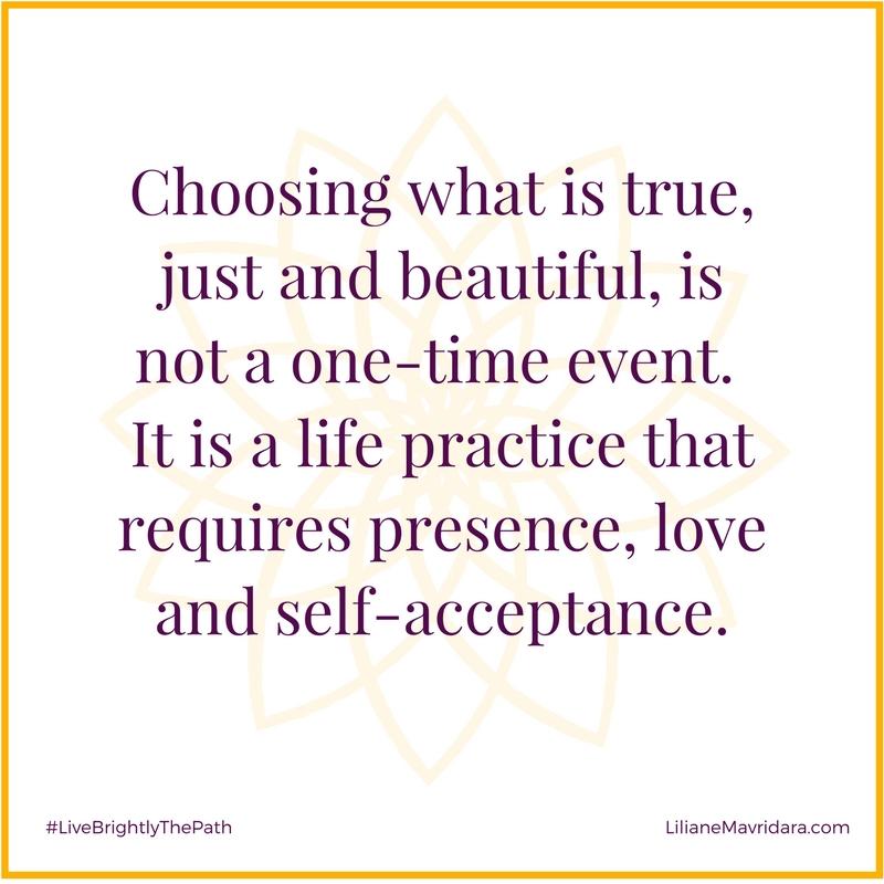 Choosing What Is True