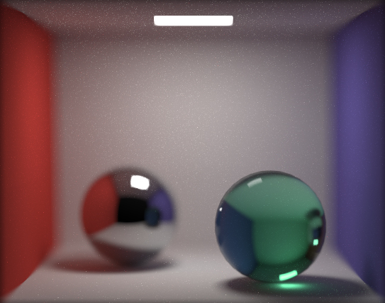 Monte Carlo path tracing with depth of field