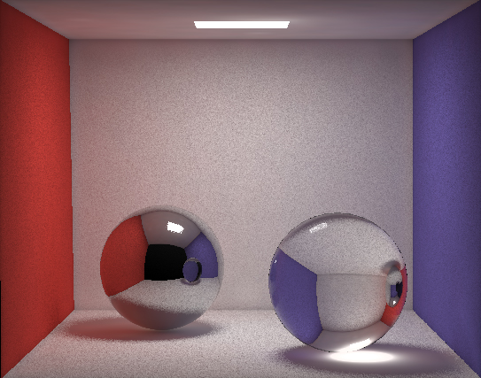 Photon Mapping with 5 million photons