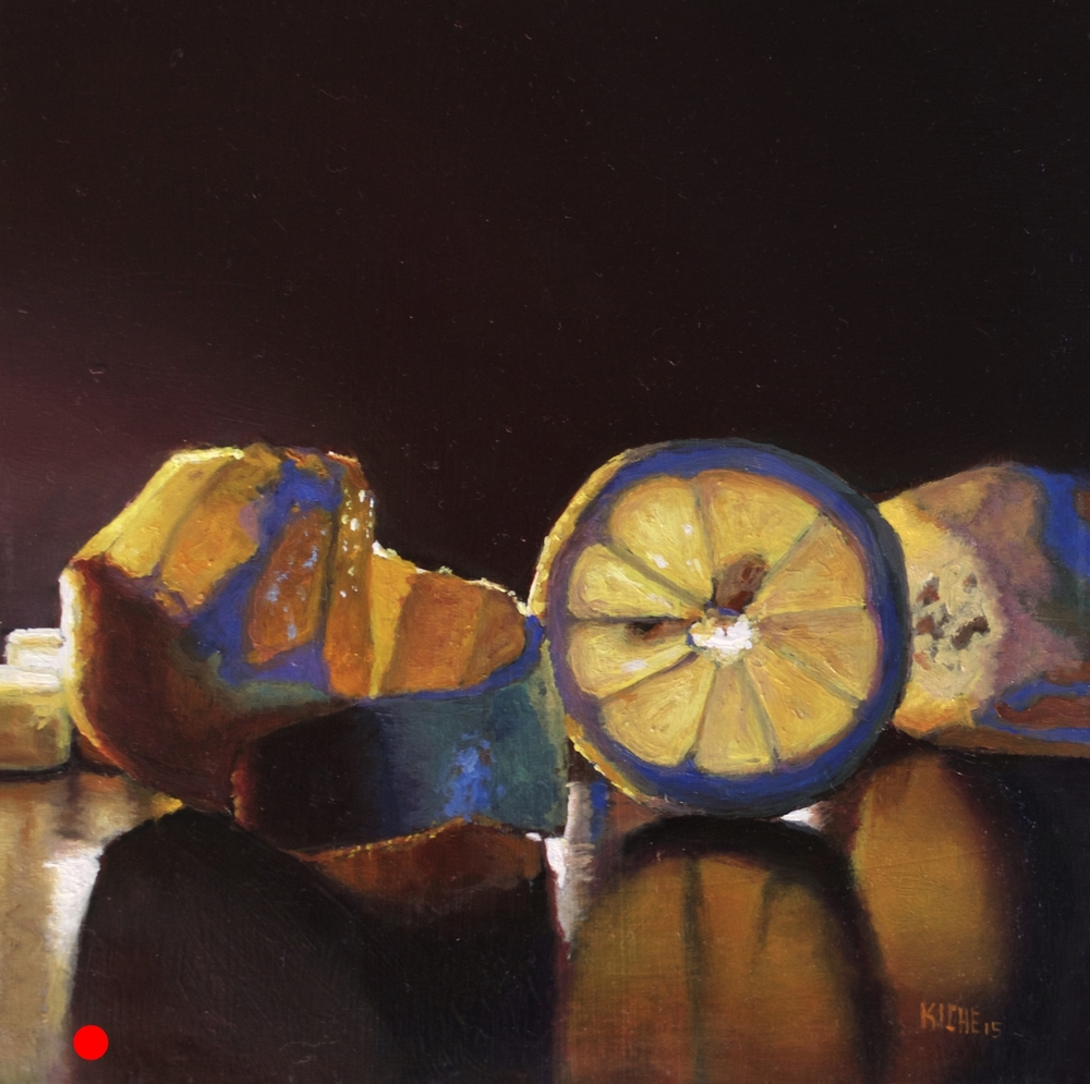 Lemons by candlelight