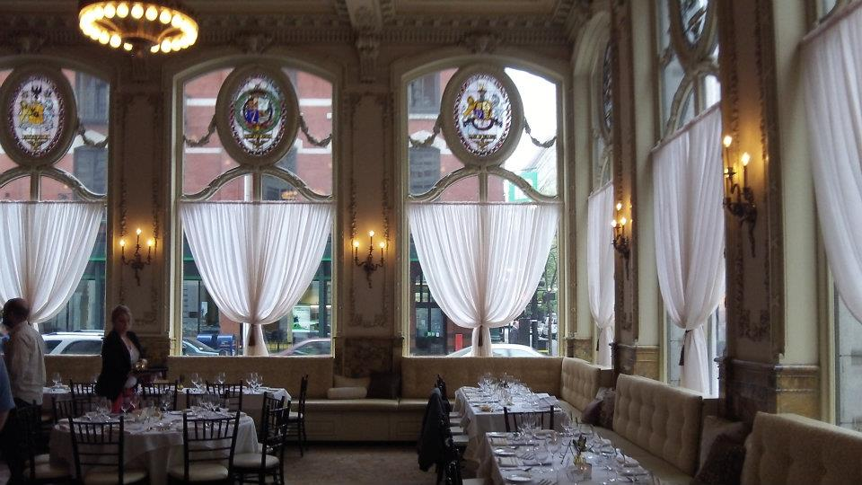 The Dorrance, a gorgeous former bank turned restuarant in the heart of Providence