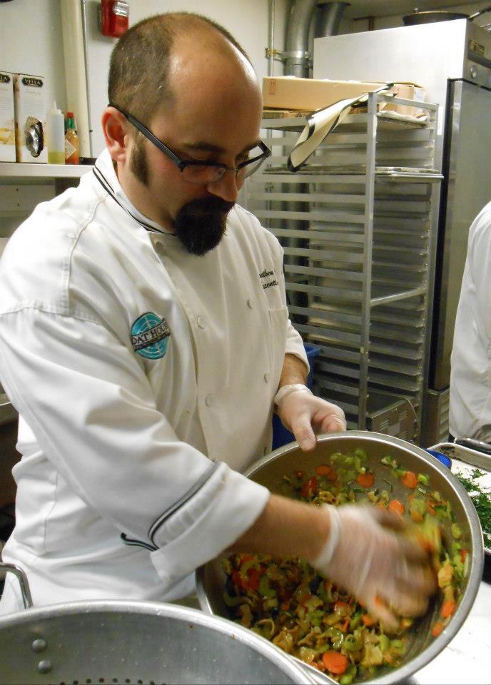 Chef Jonathan Cambra prepares conch salad