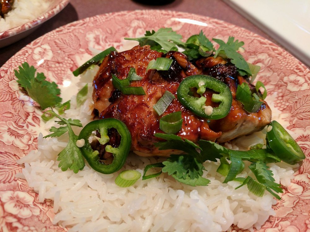 Caramelized Vietnamese-Style bluefish