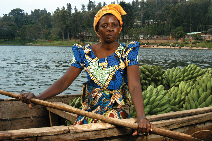 Rescuer Josephine Dusabimana