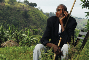 Augustine Kamegeri, rescuer, Rwanda.