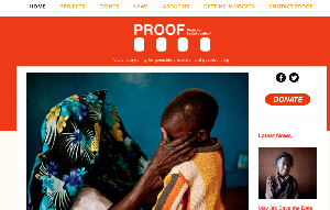 PROOF's new homepage will include a monthly digital 'magazine' that highlights the latest projects PROOF is working on.