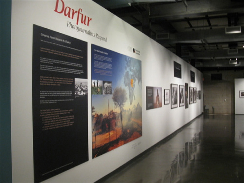 Dafur: Photojournalists Respond, on display at the Holocaust Museum Houston.
