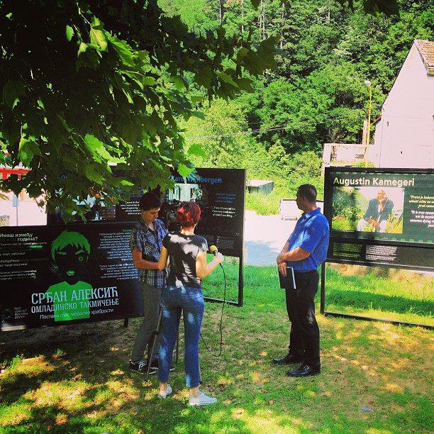 The Rescuers in Srebrenica
