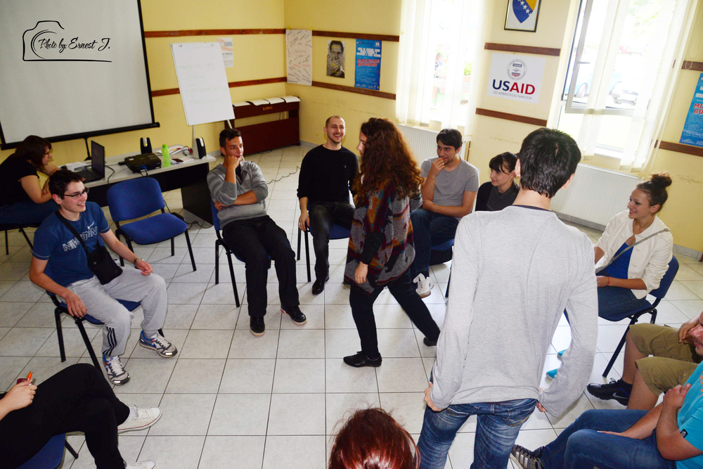The Rescuers, workshop in brcko district, 2013