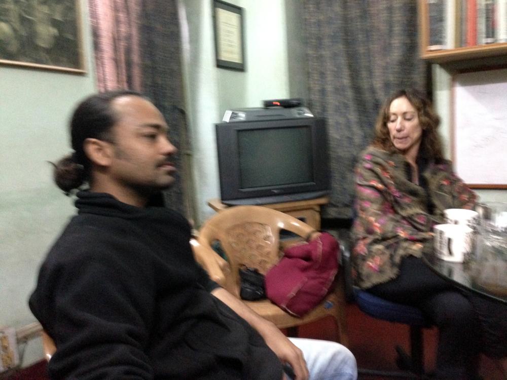 DRIK Assistant Director Subhajit Dasbhaumik