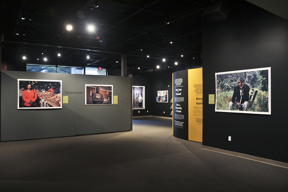 """Picturing Moral Courage: The Rescuers"", on display at the Holocaust Museum Houston."