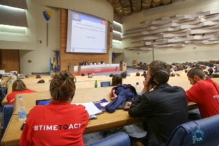 Awareness Week Launch Event in Sarajevo