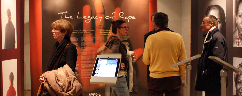"""The Legacy of Rape"" exhibit in Geneva"