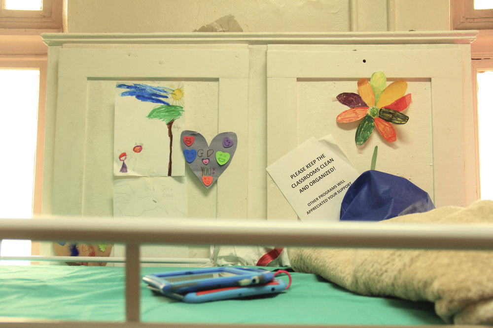 Children's drawings.Holyrood Episcopal Church in Washington Heights, New York – August 17, 2017.