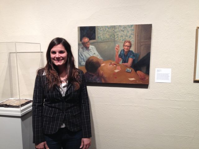 At The Octagon's 45th National Juried Exhibition