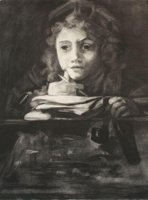 Rembrant Study, ©2009