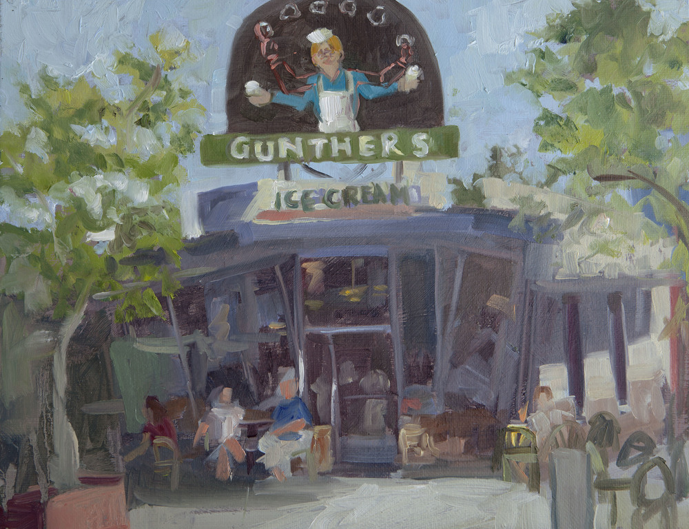 A local favorite - Gunther's ice Cream!