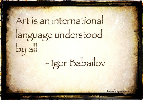 author Igor Babailov - credit to Pinterest