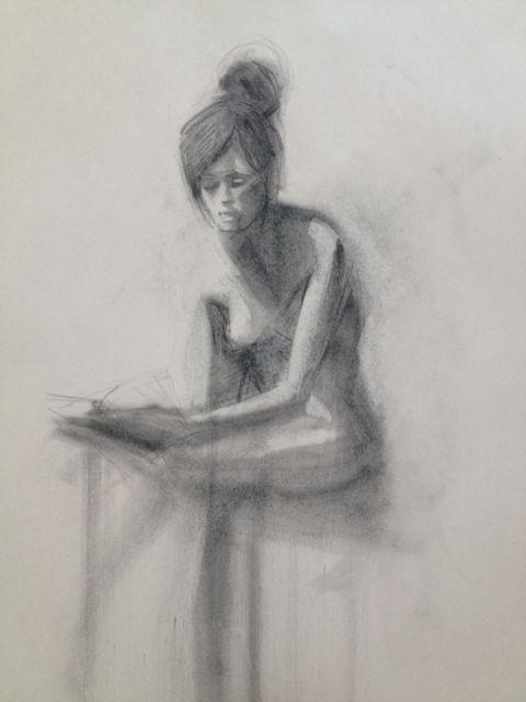 20 min sketch from life #patrisstudios
