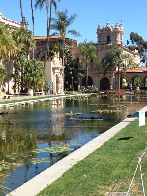 I told you Balboa Park is beautiful!! I may have to go back and plein air paint next time!