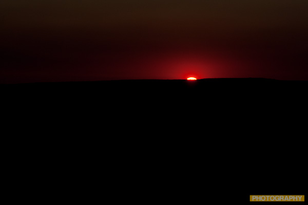 Sunrise over the Washington Cascades
