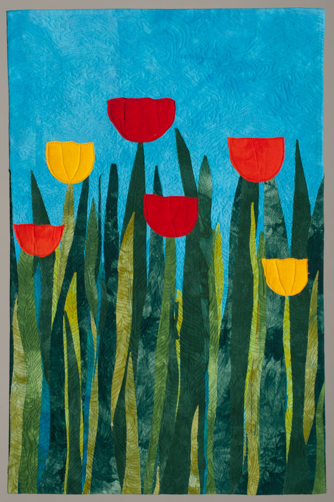 Lynda Christiansen, Six Tulips