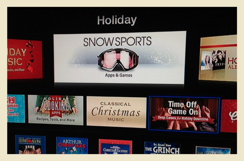 Indications of Appy Holidays for Apple TV