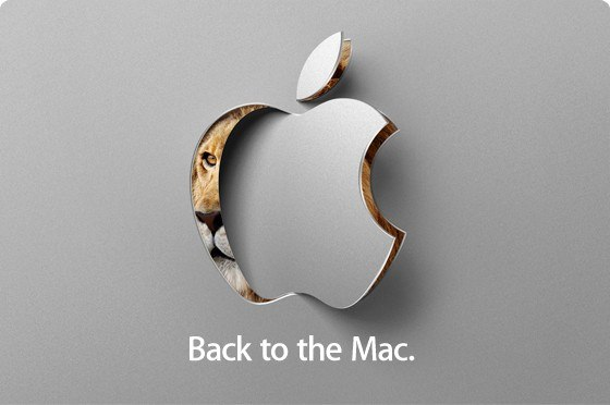 """Back to the Mac"" Invitation Found at Gearlive.com"