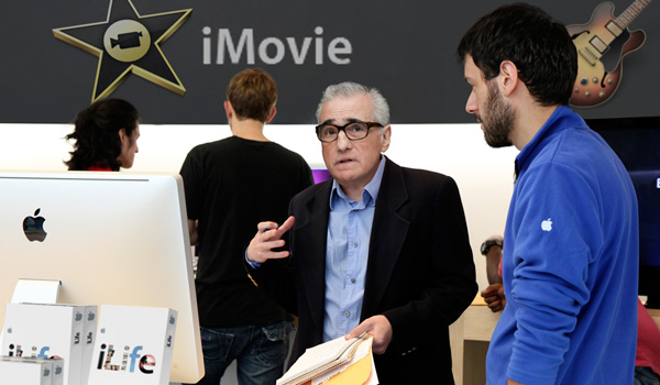 Martin Scorsese Attends Free iMovie Demonstration At Apple Store