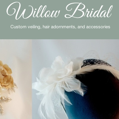 Scott made a truly stellar Squarespace site for his wife's business at WillowBridal.com.