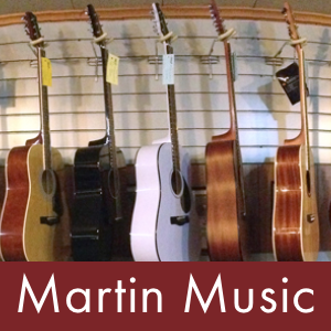 Jon built the website for MartinMusic.com using Squarespace.