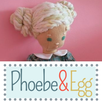 Lisa makes beautiful dolls and doll clothes by hand and shows them off on her Squarespace cite.
