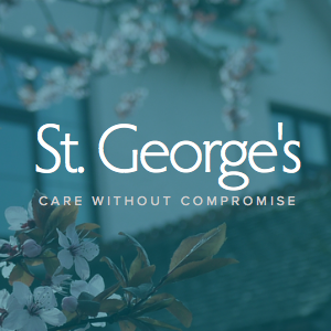 Phil built the site for St George's care facility with Squarespace.
