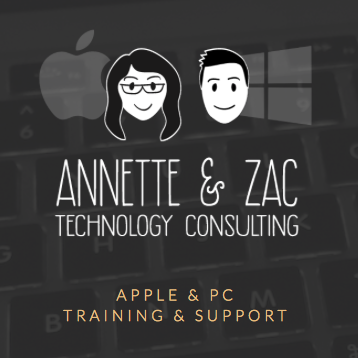 Annette made the site for her tech consulting business using Squarespace.