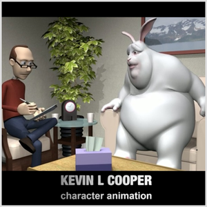Kevin built a Squarespace page to show off his computer animation work.